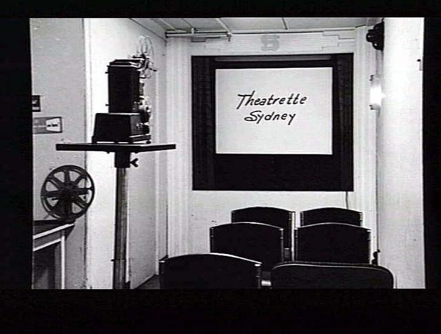 Sydney club theaterette