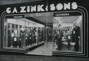 Zink & Sons tailors Sydney